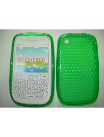 Funda TPU Blackberry 8520 verde