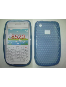Funda TPU Blackberry 8520 azul