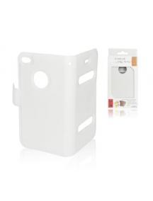 Funda libro Slim Iphone 4 - 4S blanca