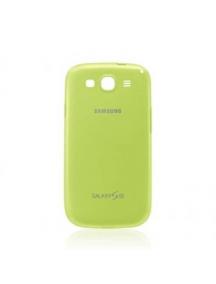 Funda TPU Samsung EFC-1G6PME Galaxy S III i9300 verde