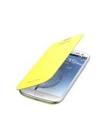 Funda libro Samsung EFC-1G6FY Galaxy SIII i9300 amarilla