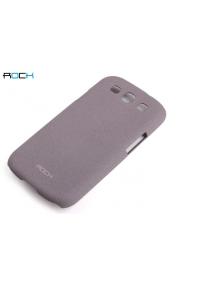 Protector rígido Rock Samsung Galaxy S III i9300 púrpura