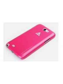 Protector rigido Rock Samsung Galaxy Note II N7100 rosa