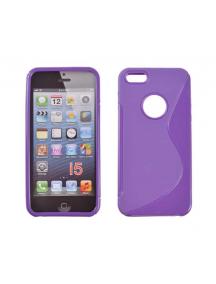 Funda TPU Telone S-case Apple iPhone 5 lila