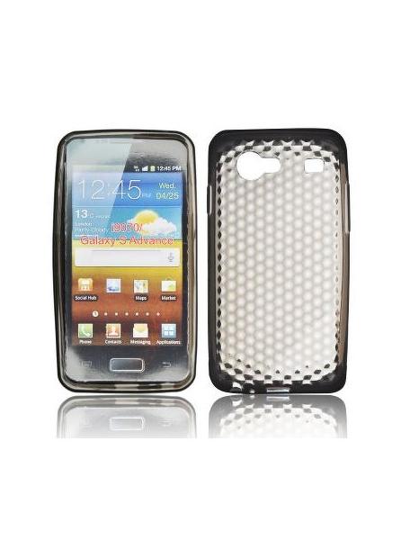 8d77730506b Funda silicona TPU Samsung Galaxy S Advance i9070 negra - TECNOPHONIA