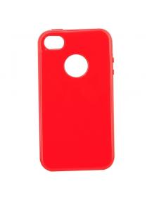Funda TPU Telone s-case iPhone 4 - 4s roja