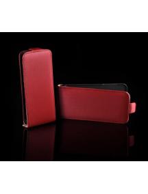 Funda solapa Telone Neo Slim Samsung S5360 Galaxy Y roja