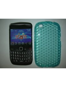 Funda TPU Blackberry 9220 turquesa