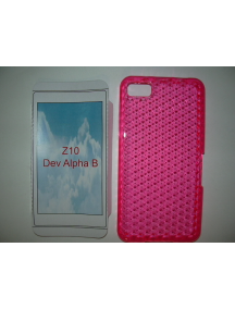 Funda TPU Blackberry Z10 rosa