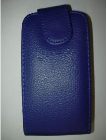 Funda solapa Sony Ericsson C1505 Xperia E azul