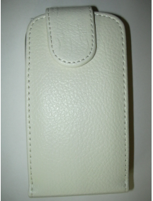 Funda solapa Blackberry Z10 blanca