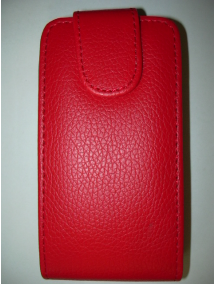 Funda solapa Blackberry Z10 roja