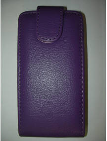 Funda solapa Blackberry Z10 morada