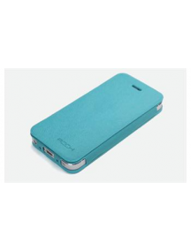 Funda libro Rock Apple iPhone 5 turquesa