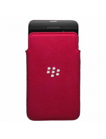 Funda microfibra Blackberry ACC-49282 roja Z10