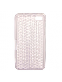 Funda TPU Blackberry Z10 transparente