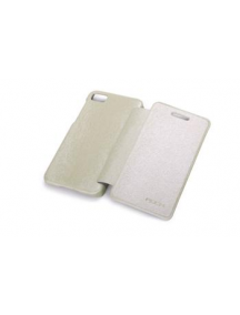 Funda libro Rock Blackberry Z10 crema