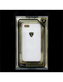 Lamborghini protector trasero rigido Diabo-d1 iphone 5 blanco
